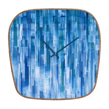 Jacqueline Maldonado Rain Wall Clock