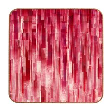 <strong>DENY Designs</strong> Jacqueline Maldonado Red Rain Wall Art