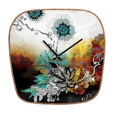 <strong>DENY Designs</strong> Iveta Abolina Frozen Dreams Wall Clock
