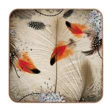 <strong>DENY Designs</strong> Iveta Abolina Feather Dance Wall Art