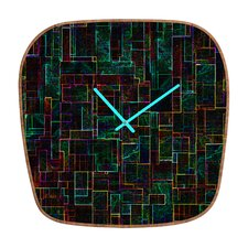 Jacqueline Maldonado Matrix Wall Clock