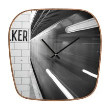 <strong>DENY Designs</strong> Leonidas Oxby The Subway Wall Clock
