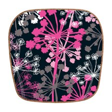 <strong>DENY Designs</strong> Rachael Taylor Cow Parsley Wall Clock