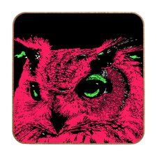 Owl by Romi Vega Framed Graphic Art Plaque