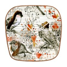 Randi Antonsen Love Birds Wall Clock
