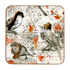 <strong>DENY Designs</strong> Randi Antonsen Love Birds Wall Art