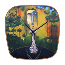 Robin Faye Gates Forest for Trees Wall Clock