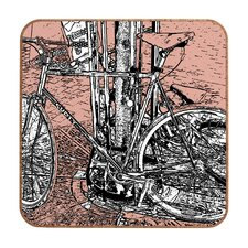 Bike by Romi Vega Framed Graphic Art Plaque