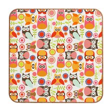 <strong>DENY Designs</strong> Valentina Ramos Cute Little Owls Wall Art