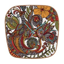 <strong>DENY Designs</strong> Valentina Ramos Paradise The Bird Wall Clock
