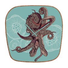 <strong>DENY Designs</strong> Valentina Ramos Octopus Bloom Wall Clock