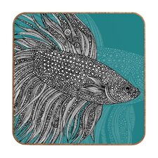 <strong>DENY Designs</strong> Valentina Ramos Beta Fish Wall Art