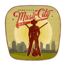 Anderson Design Group Music City Wall Clock