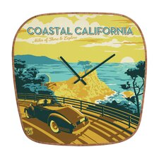 Anderson Design Group Coastal California Wall Clock