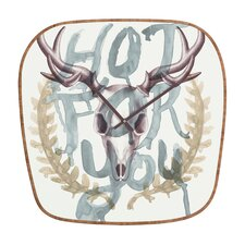 <strong>DENY Designs</strong> Wesley Bird Hot For You Wall Clock