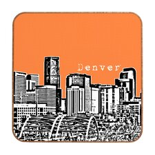 Denver by Bird Ave. Framed Graphic Art Plaque