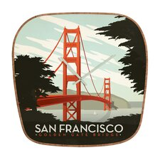 Anderson Design Group San Francisco Wall Clock