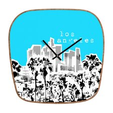 Bird Ave Los Angeles Wall Clock