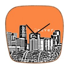 <strong>DENY Designs</strong> Bird Ave Denver Wall Clock