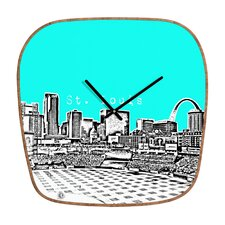 <strong>DENY Designs</strong> Bird Ave St Louis Wall Clock