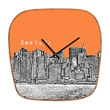 <strong>DENY Designs</strong> Bird Ave New York Wall Clock
