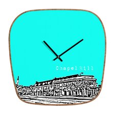 Bird Ave Chapel Hill Wall Clock