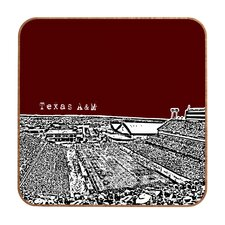 <strong>DENY Designs</strong> Bird Ave Texas A and M Maroon Wall Art