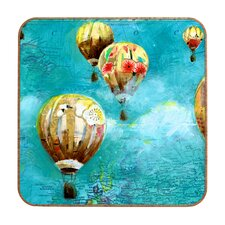 Herd of Balloons 2 by Land of Lulu Framed Graphic Art Plaque