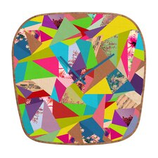 Bianca Green Colorful Thoughts Wall Clock