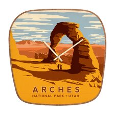 Anderson Design Group Arches Wall Clock