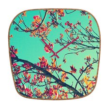 <strong>DENY Designs</strong> Shannon Clark Summer Bloom Wall Clock