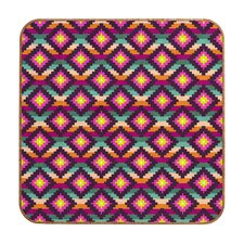 Bianca Green Aztec Diamonds Hammock Wall Art