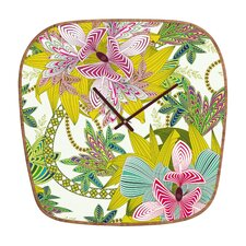 <strong>DENY Designs</strong> Sabine Reinhart Life Is Music Wall Clock