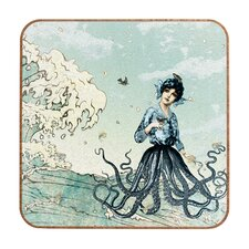 <strong>DENY Designs</strong> Belle13 Sea Fairy Wall Art
