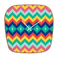 Juliana Curi Chevron 5 Clock