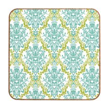<strong>DENY Designs</strong> Rebekah Ginda Design Lovely Damask Wall Art