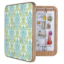 <strong>DENY Designs</strong> Rebekah Ginda Design Lovely Damask Blingbox Replacement Cover