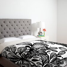 <strong>DENY Designs</strong> Julia Da Rocha Wild Leaves Duvet Cover Collection