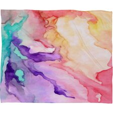 <strong>DENY Designs</strong> Rosie Brown Color My World Polyesterr Fleece Throw Blanket