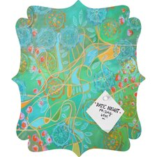 Stephanie Corfee Secret Garden Quatrefoil Magnet Board