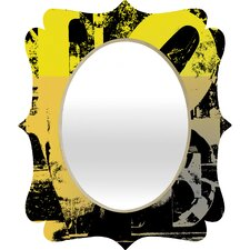 <strong>DENY Designs</strong> Amy Smith Philadelphia Love Quatrefoil Mirror