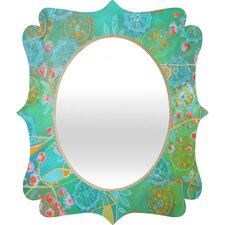 Stephanie Corfee Secret Garden Quatrefoil Mirror