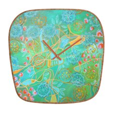 Stephanie Corfee Secret Garden Wall Clock