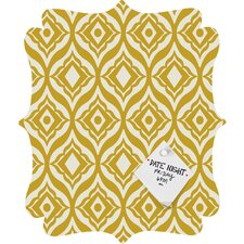 Heather Dutton Trevino Quatrefoil Magnet Board