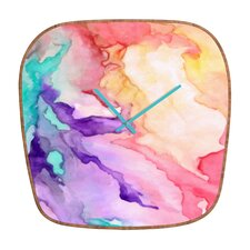 <strong>DENY Designs</strong> Rosie Brown Color My World Wall Clock