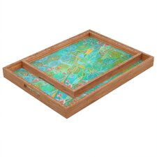 Stephanie Corfee Secret Garden Rectangular Tray