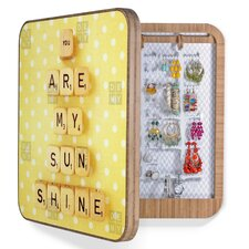 <strong>DENY Designs</strong> Happee Monkee You Are My Sunshine Blingbox