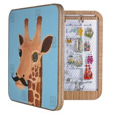 <strong>DENY Designs</strong> Mandy Hazell Gentleman Giraffe Blingbox Replacement Cover
