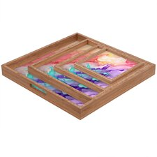 Rosie Brown Color My World Square Tray