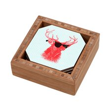 Nick Nelson Young Buck Coaster (Set of 4)
